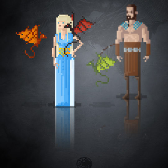 http://devilleart.com/wp-content/uploads/2016/06/8Bit_MoviesTv_Game-Of-Thrones-Daenerys-540x540.jpg