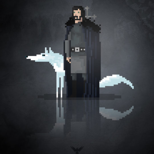 http://devilleart.com/wp-content/uploads/2016/06/8Bit_MoviesTv_Game-Of-Thrones-Jon-Snow-540x540.jpg
